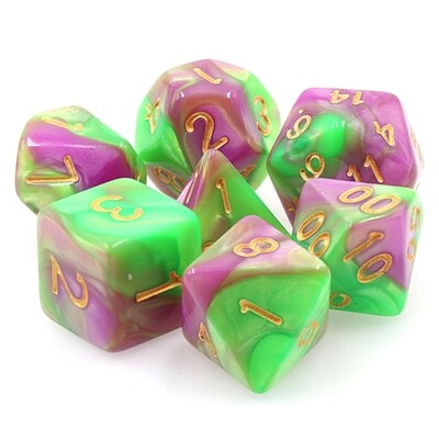 7 Die Set: Emerald Rose