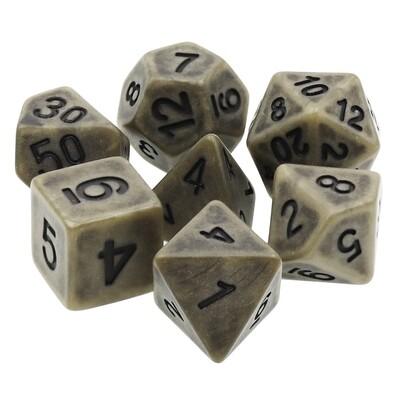7 Die Set: Ancient Cyan