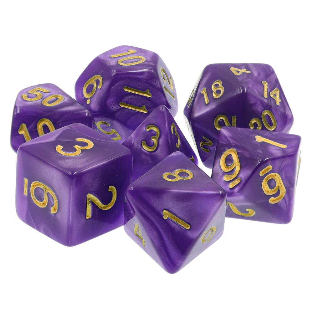 7 Die Set: Gilded Lavender