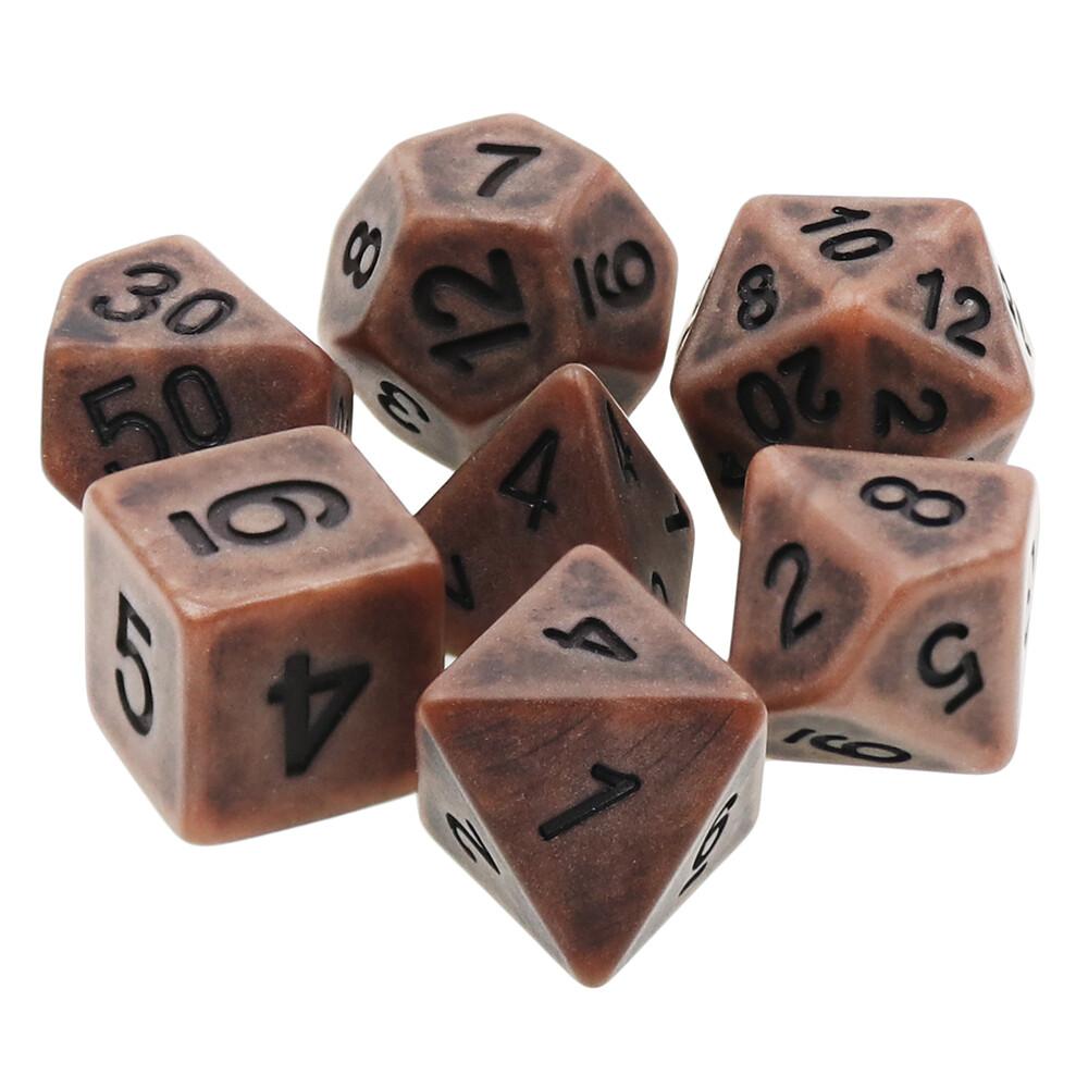 7 Die Set: Ancient Copper