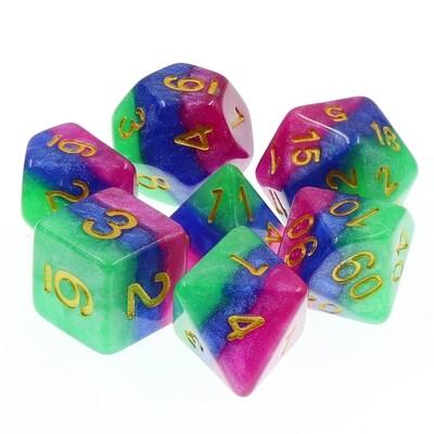 7 Die Set: Jester's Gambit
