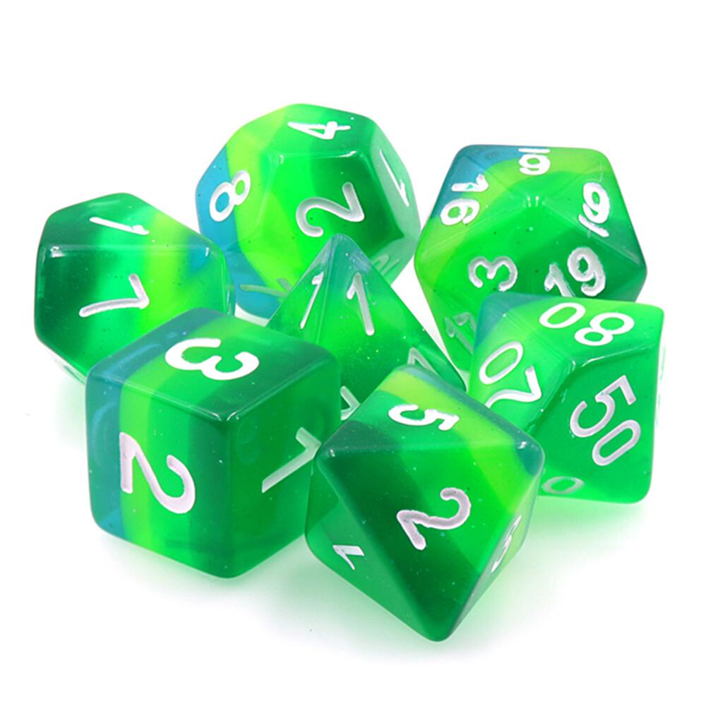 7 Die Set: Stratified Green