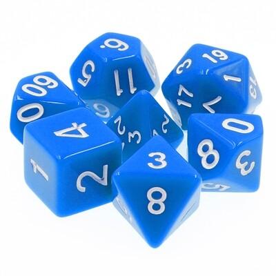 7 Die Set: Opaque Blue