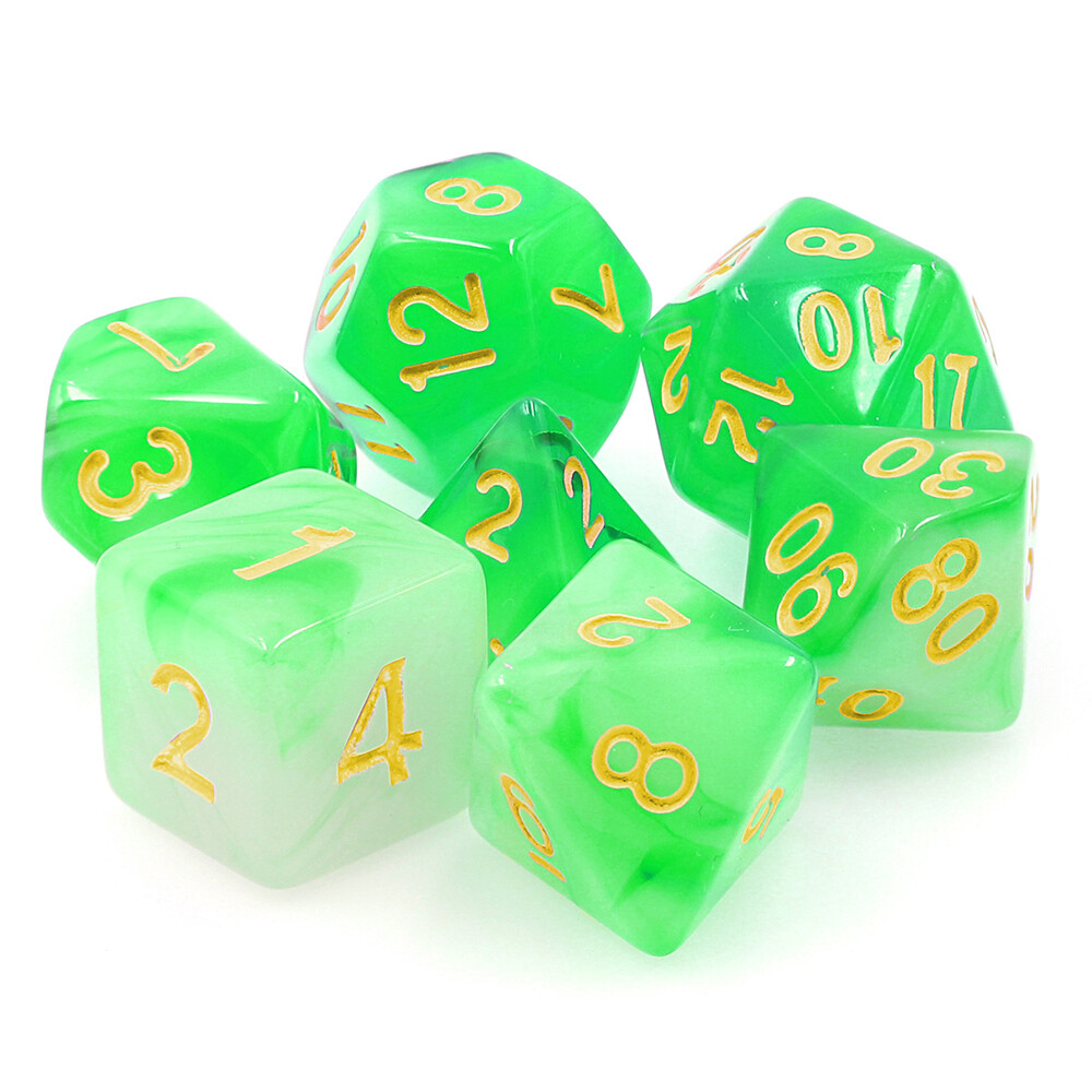 7 Die Set: Alabaster Green