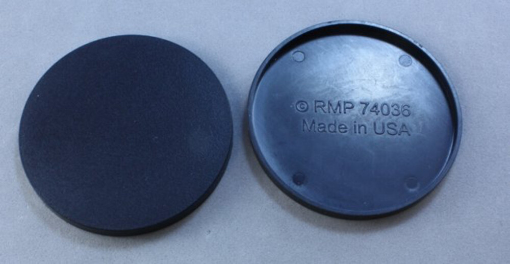 "2"" Round Plastic Base (10ct)"