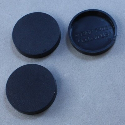 "1"" Round Plastic Base (20ct)"