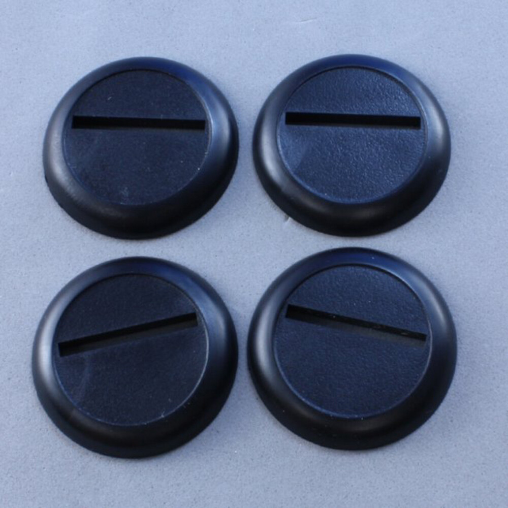 30mm Round Plastic Base (20ct)
