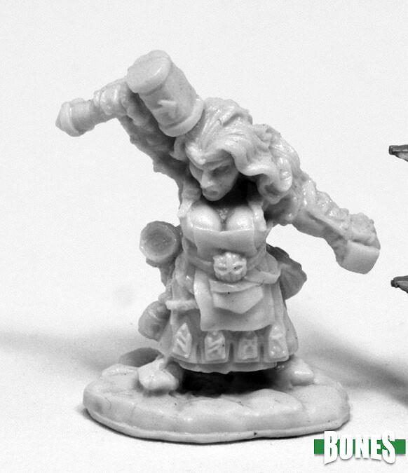 Matgara, Female Dwarf Cleric