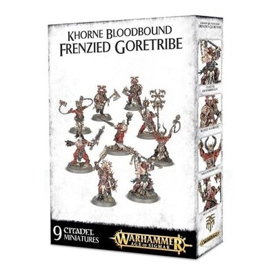 Khorne Bloodbound Frenzied Goretribe