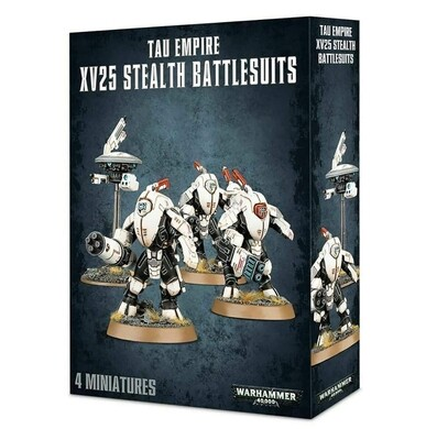 T'au Empire XV25 Stealth Battlesuits