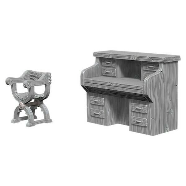 Desk & Chair W5
