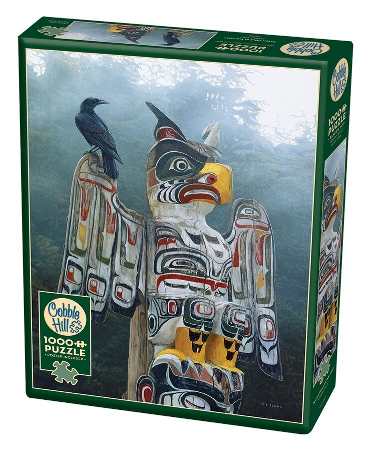 Totem Pole In The Mist