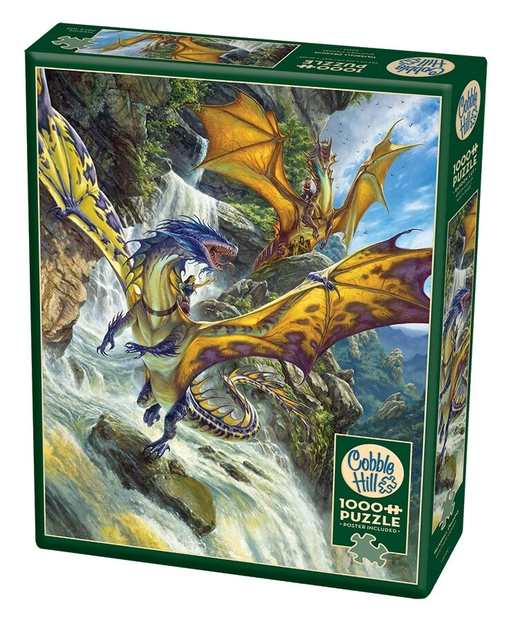 Waterfall Dragons