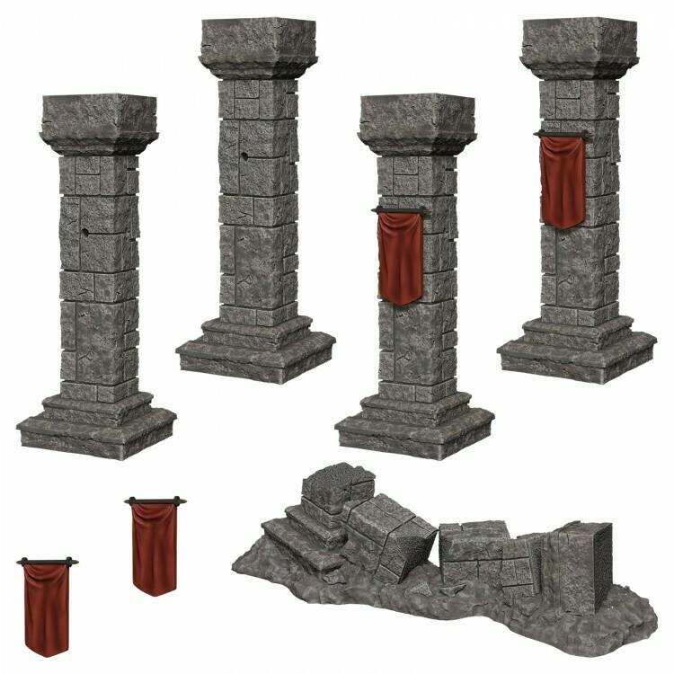 Pillars & Banners W11