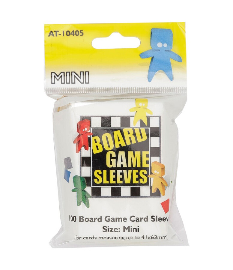 Board Game Sleeves: Mini 41x63mm (100ct)