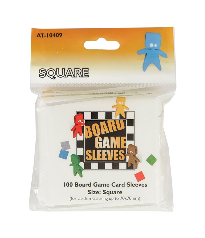 Board Game Sleeves: Square 70x70mm (100ct)