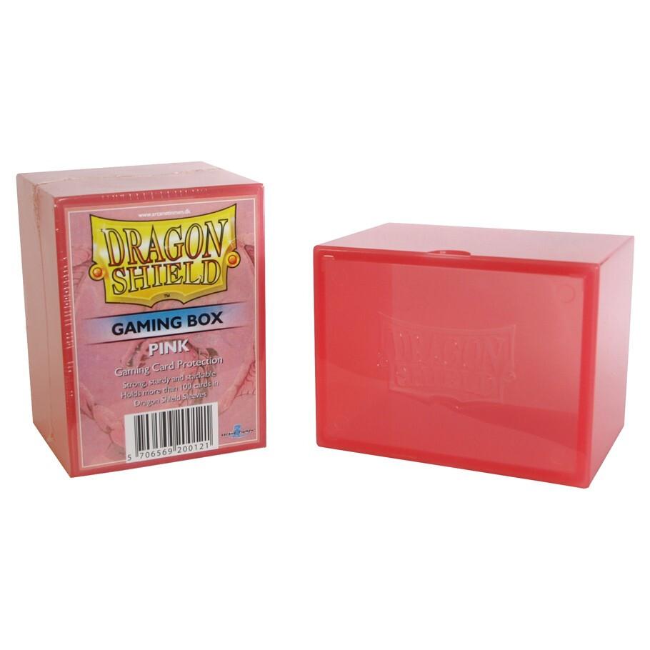 Deck Box: Dragon Shield: Gaming Box Pink