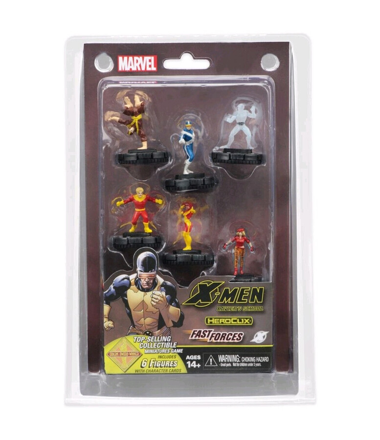 HeroClix: X-Men Xaviers School Fast Forces
