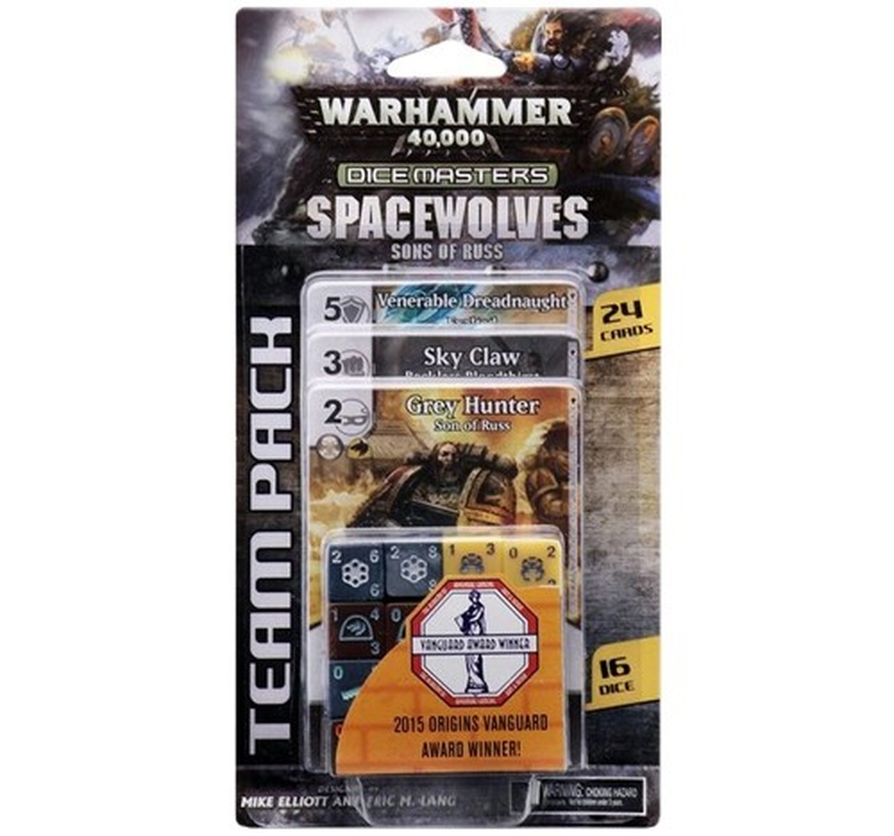 Dice Masters: Spacewolves Sons Of Russ Team Pack