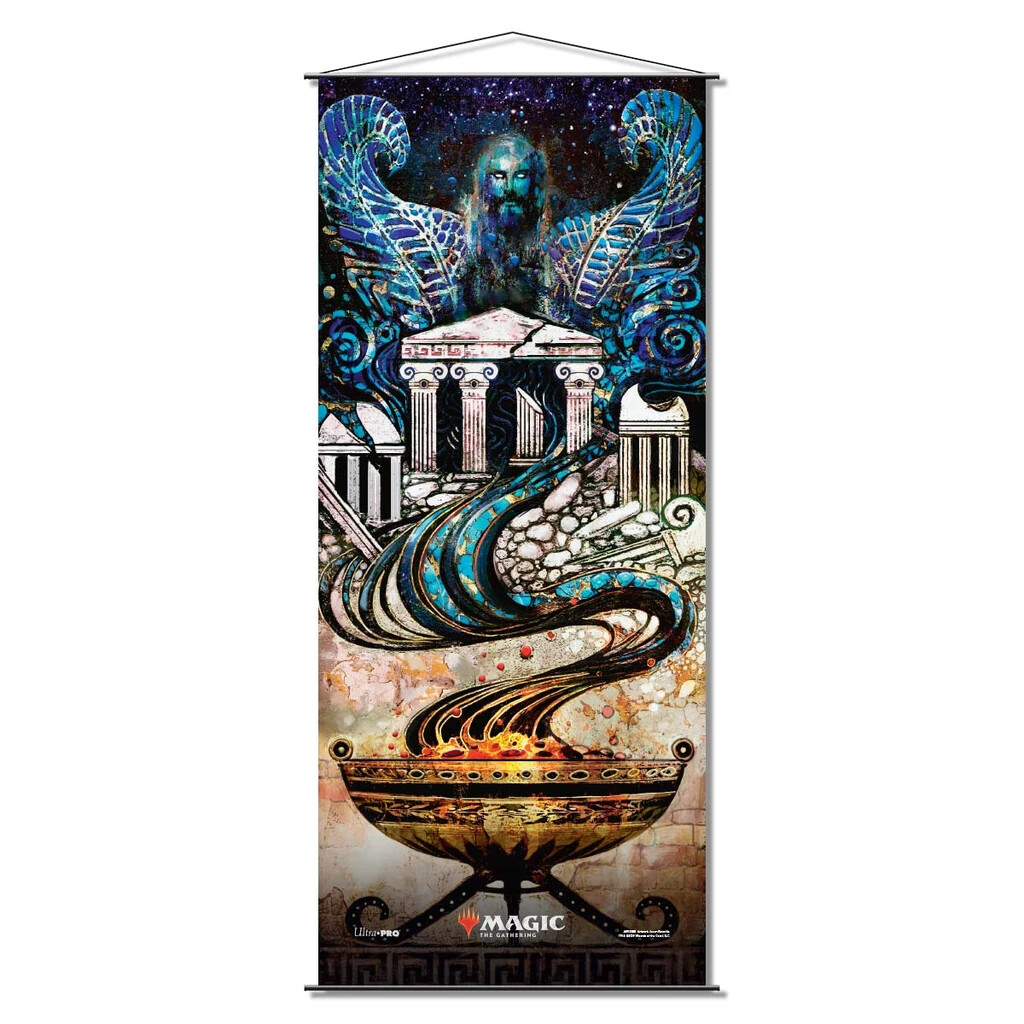 Magic the Gathering: Theros Beyond Death Wall Scroll - Medomais Prophecy
