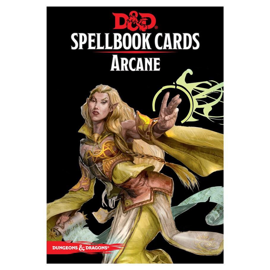 D&D 5e: Spellbook Cards: Arcane