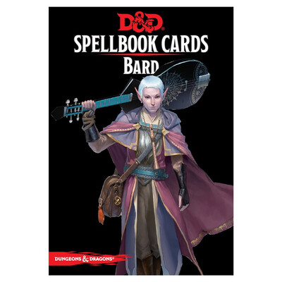 D&D 5e: Spellbook Cards: Bard
