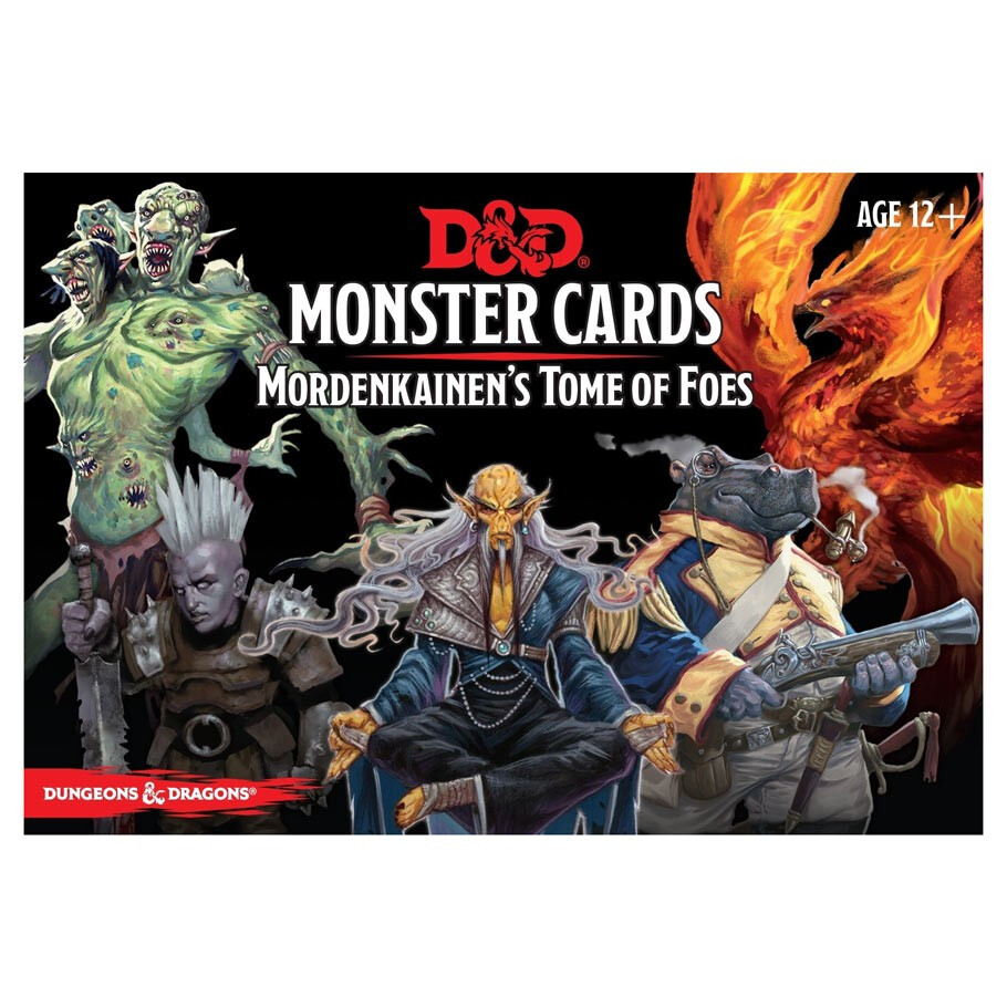 D&D 5e: Monster Cards: Mordenkainen's Tome Of Foes