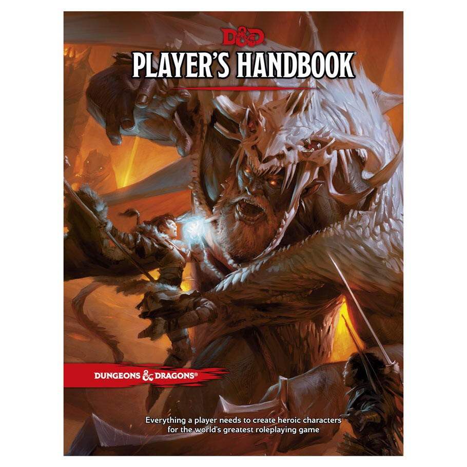 D&D 5e: Players Handbook