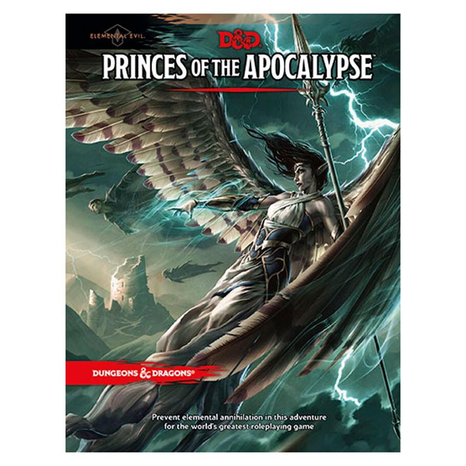 D&D 5e: Princes Of The Apocalypse