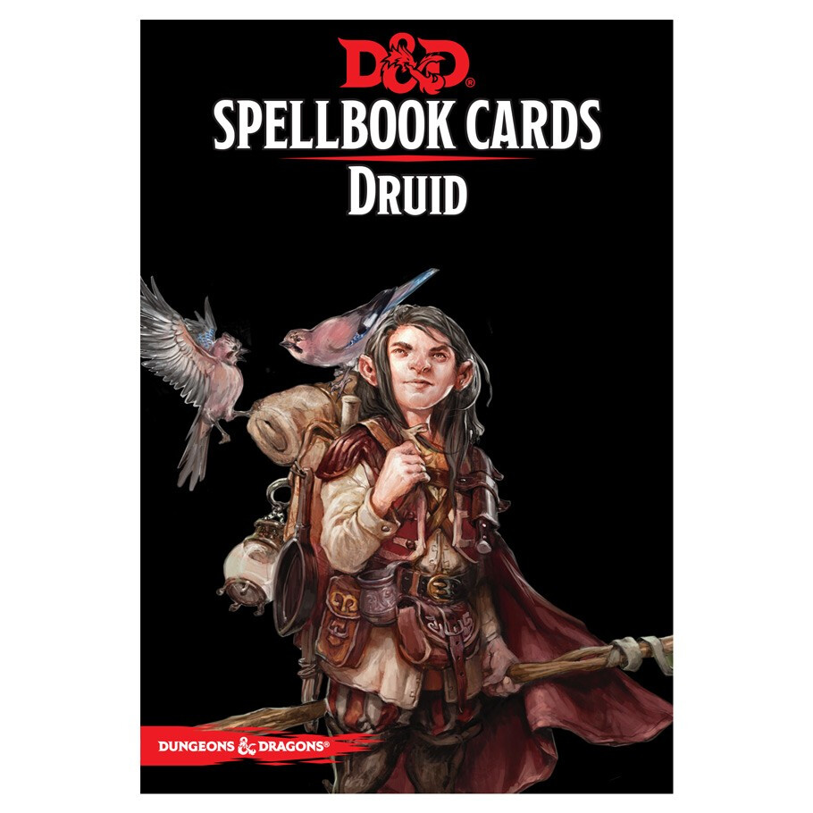 D&D 5e: Spellbook Cards: Druid