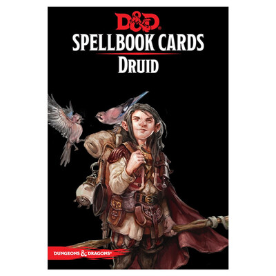 D&D 5e: Spellbook Cards: Druid