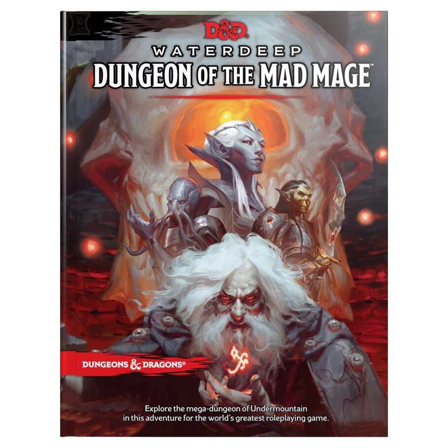 D&D 5e: Waterdeep Dungeon Of The Mad Mage