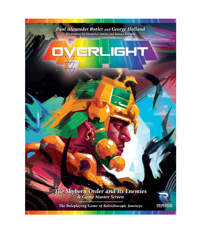 Overlight Sourcebook & GM Screen