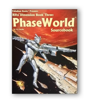 Rifts: Dimension Book Three: Phase World (used)