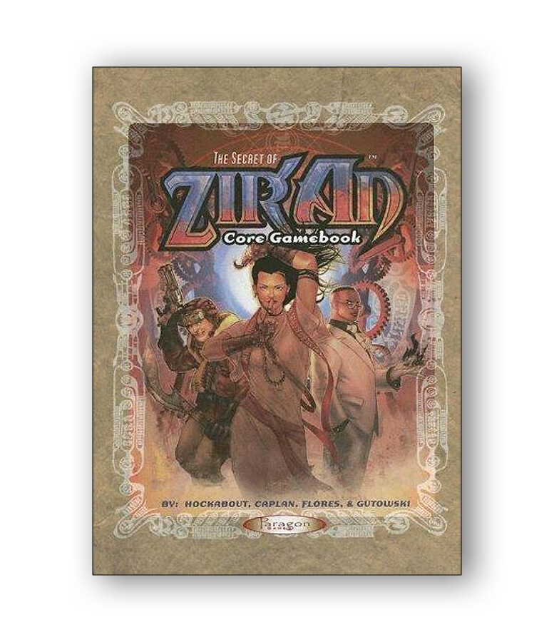 The Secret Of Ziran: Core Gamebook