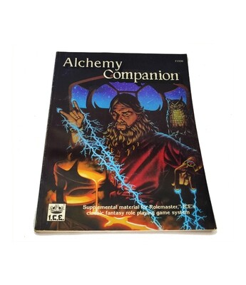 Rolemaster: Alchemy Companion (used)