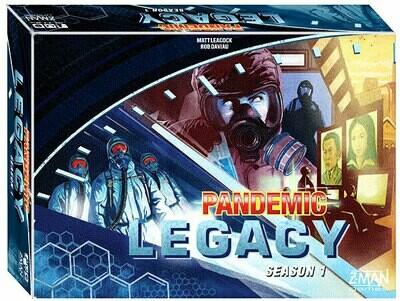 Pandemic Legacy Season 1 (Blue Edition)