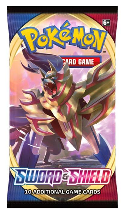 Pokemon: S&S: Sword & Shield Booster Pack