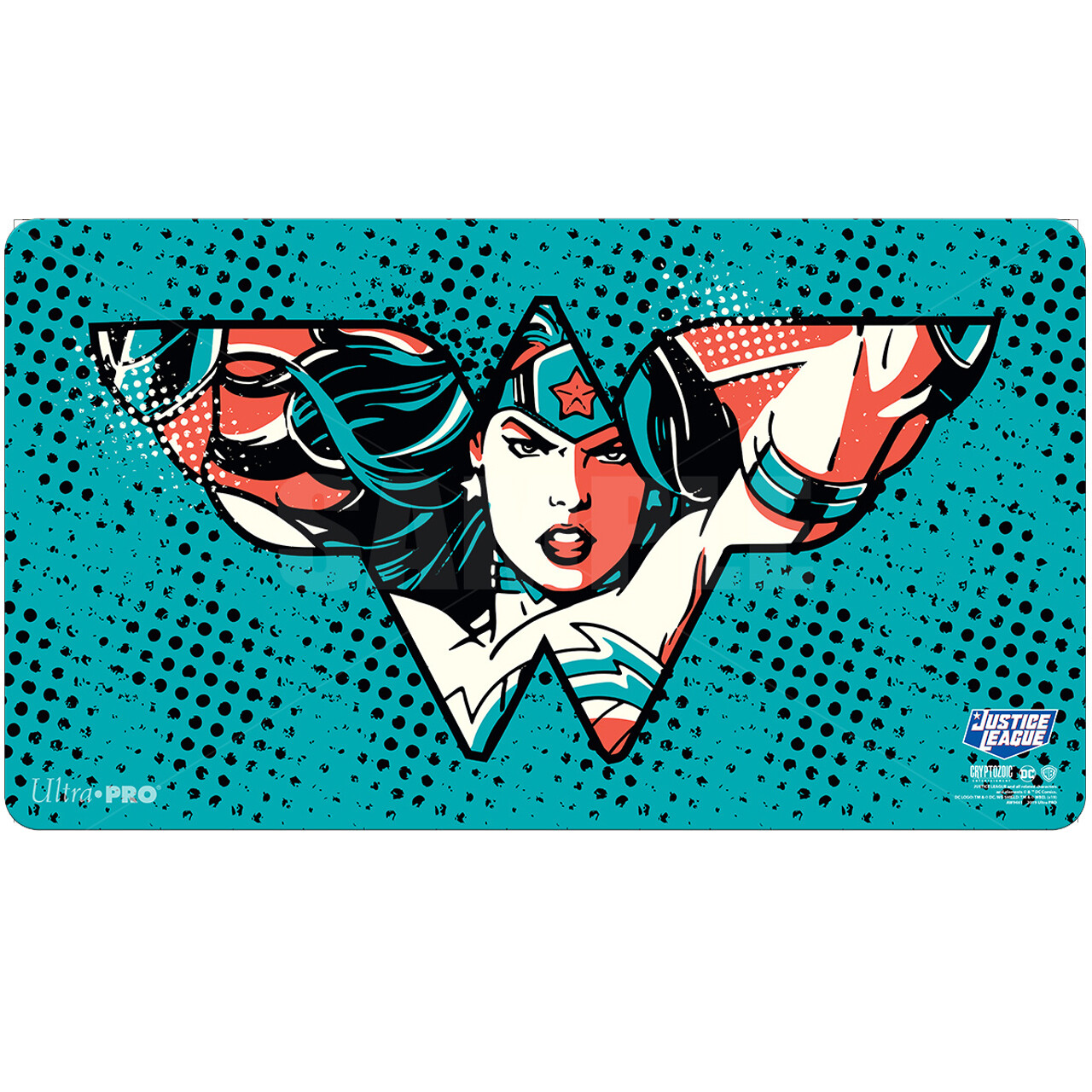 Play Mat: Justice League: Wonder Woman