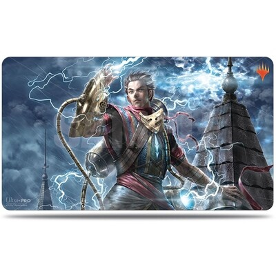 Play Mat: MtG: WAR Alt Art: Ral Zarek