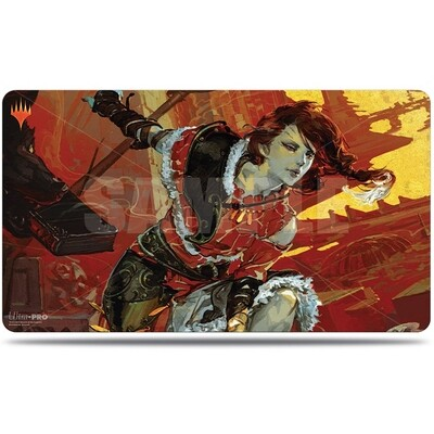 Play Mat: MtG: WAR Alt Art: Arlinn Kord