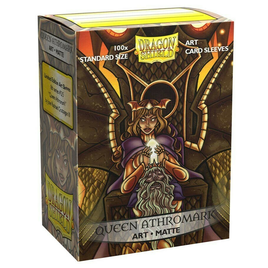 SLV: Dragon Shield Art: Matte Queen Athro (100)