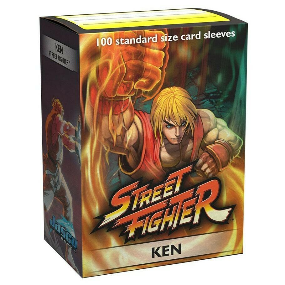 SLV: Dragon Shield Art: Street FIghter Ken (100)