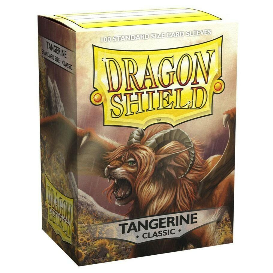 SLV: Dragon Shield Classic Tangerine (100)