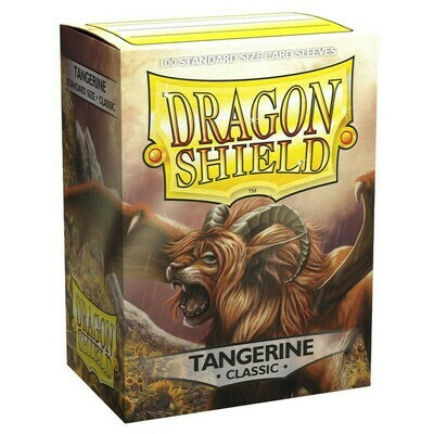 SLV: Dragon Shield Classic Tangerine (100)