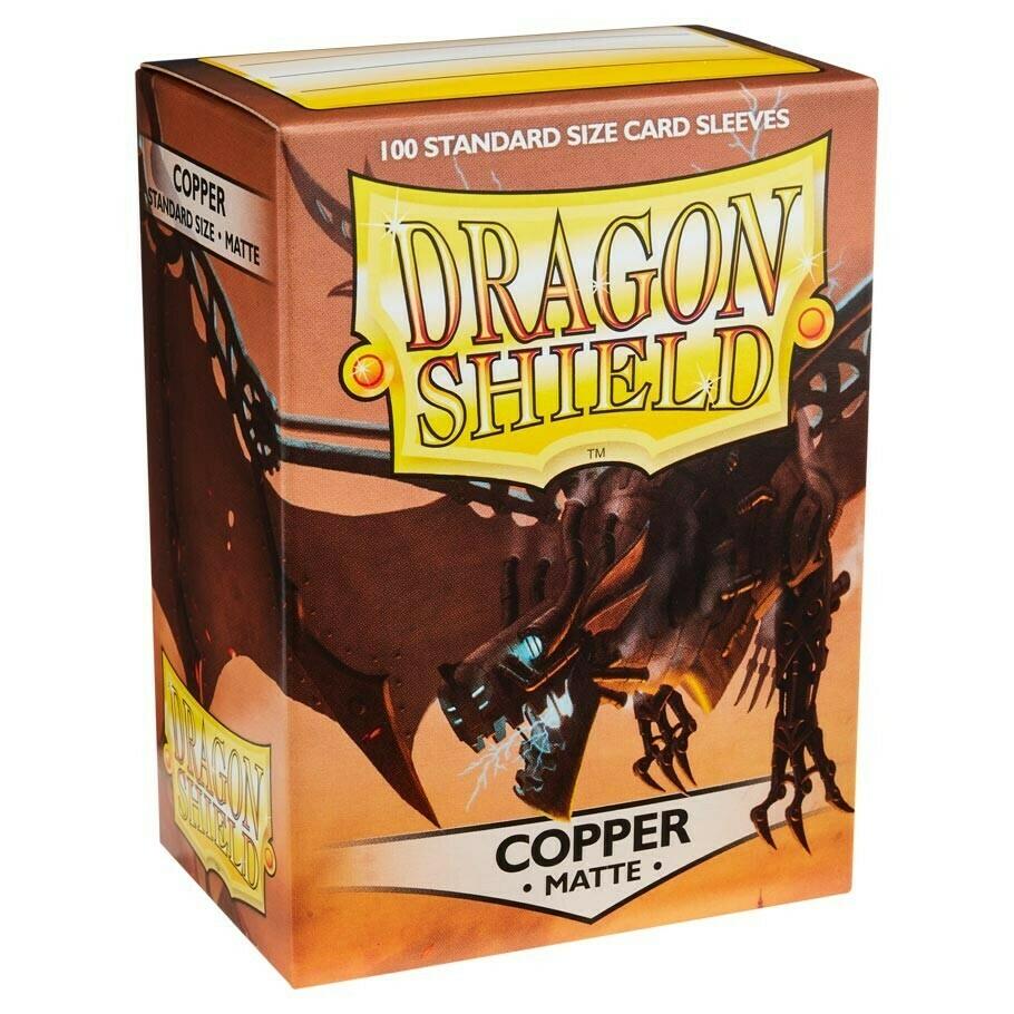 SLV: Dragon Shield Matte Copper (100)