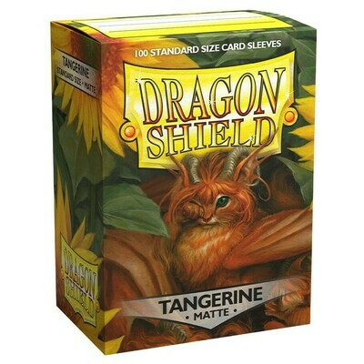 SLV: Dragon Shield Matte Tangerine (100)
