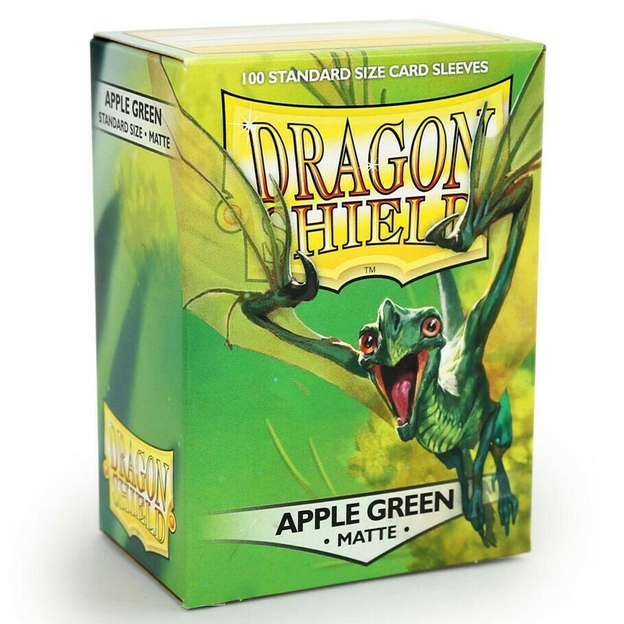 SLV: Dragon Shield Matte Apple Green (100)