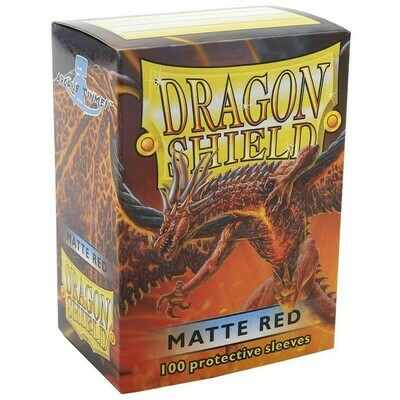 SLV: Dragon Shield Matte Red (100)