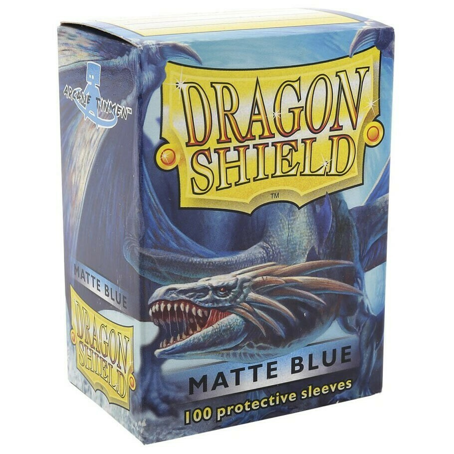 SLV: Dragon Shield Matte Blue (100)